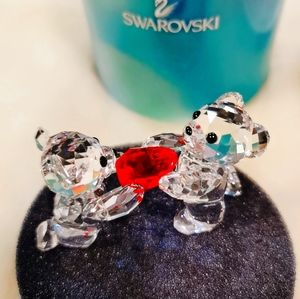 SWAROVSKI LOVLOTS BEAR BEARS MY HEART IS YOURS